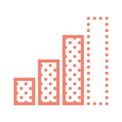 Growth bar graph